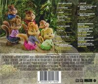 Chipwrecked Soundtrack Back Cover