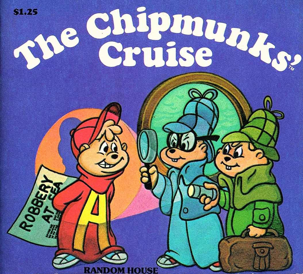 Image The Chipmunks Cruise Book Cover Jpg Alvin And