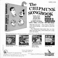 The Chipmunk Songbook Back Cover