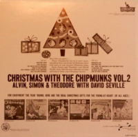 Christmas With The Chipmunks Vol. 2 Back Cover