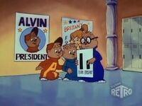 Alvin & Brittany for President