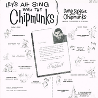 Let's All Sing with The Chipmunks Back Cover