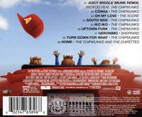 The Road Chip Soundtrack Back Cover