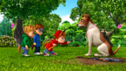 The Chipmunks and Tootsie-Bella in Doggone It