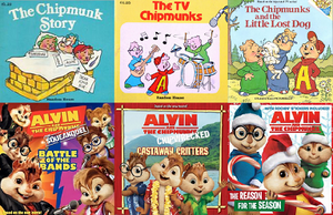 Compilation of Alvin and the Chipmunks Books
