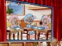Baby Chipmunks in Film Flam