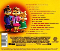The Squeakquel Soundtrack Back Cover