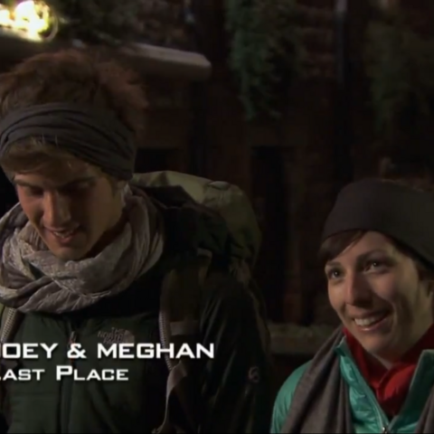 the amazing race meet joey and megan