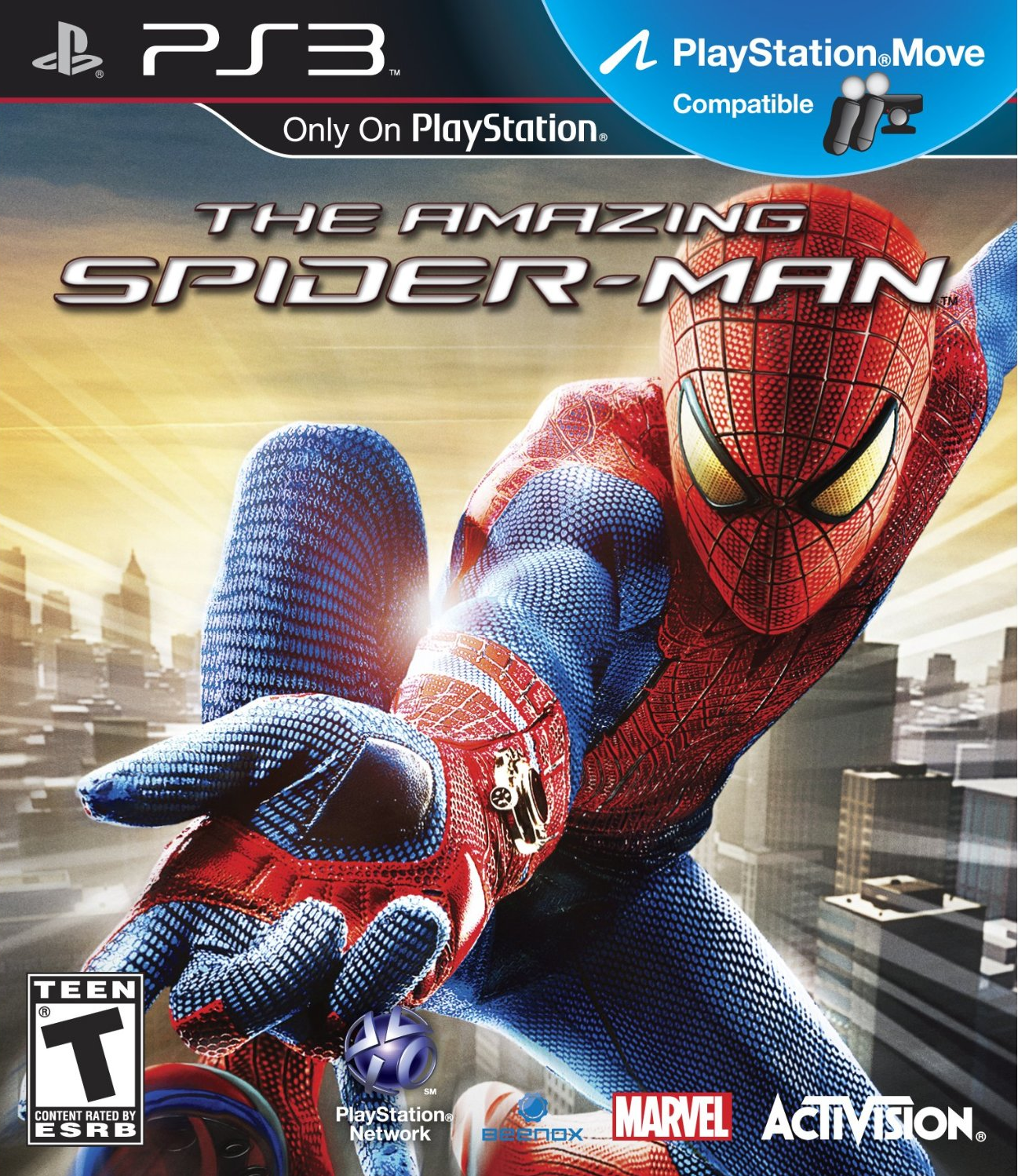 New Playstation 3 Games : Image the amazing spider man ps game