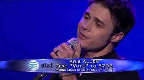 Kris Allen - Make You Feel My Love (American Idol 8 Top 11) HQ