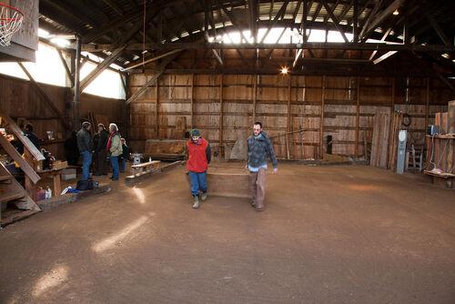 Terrain OR Williams RogueBouligans winter terrain in the barn