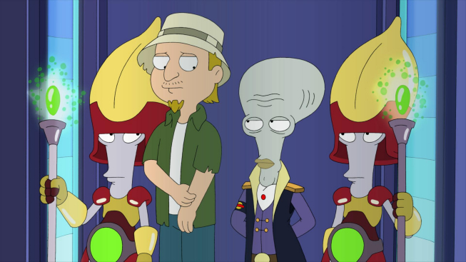 Image result for american dad LOST IN SPACE