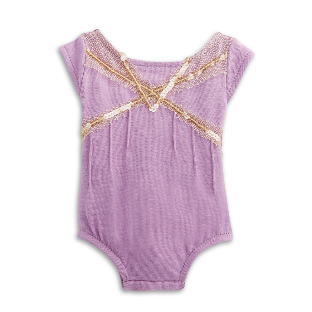 Isabelle's Purple Leotard