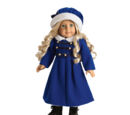 Caroline's Winter Coat and Cap