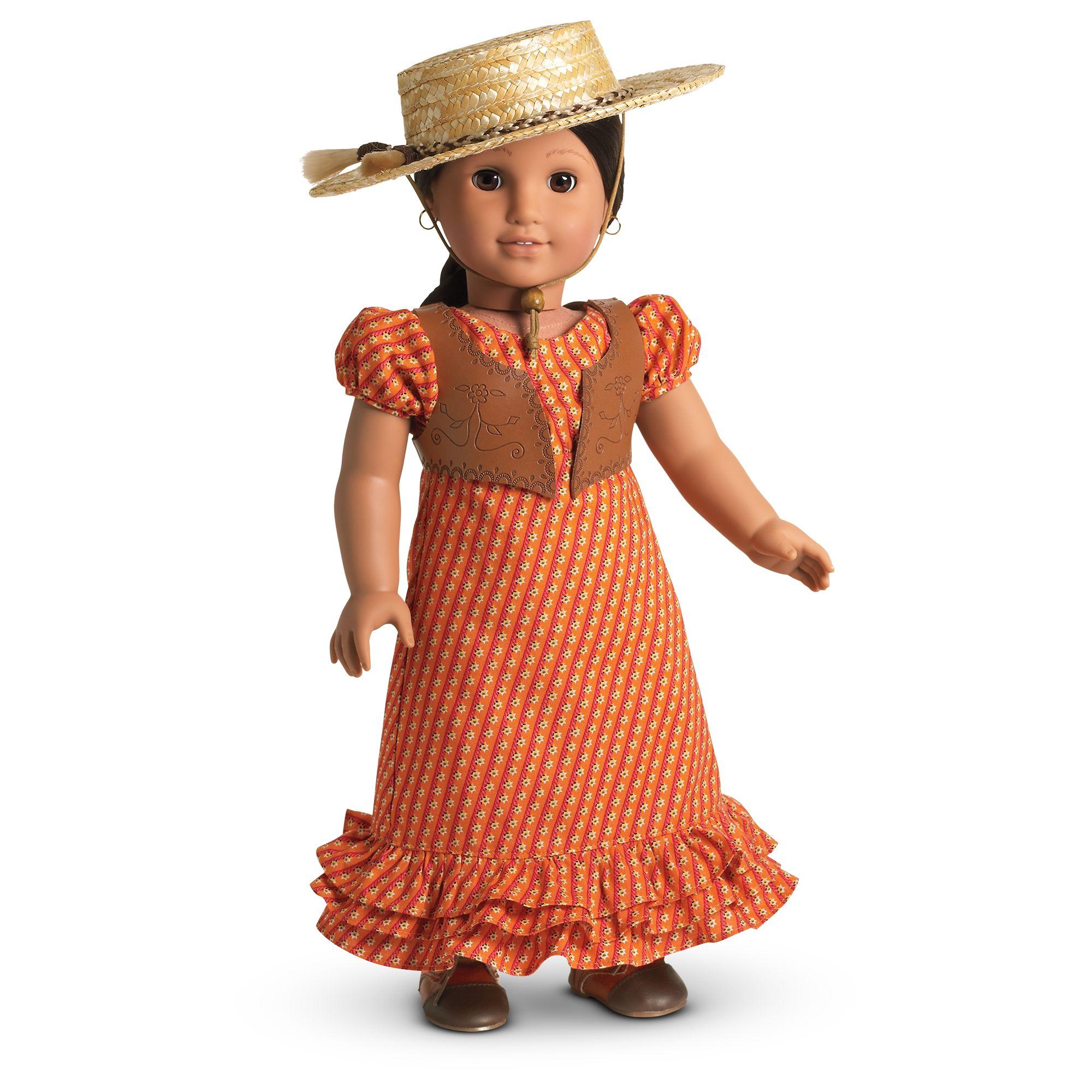 Josefina's Summer Riding Dress and Hat