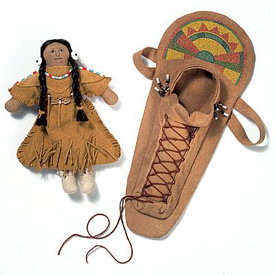 Image result for kaya doll cradle board