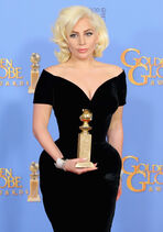 Lady Gaga Golden Globe