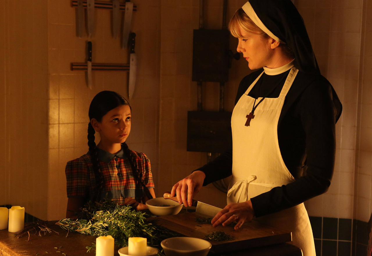 Jenny Reynolds and Sister Mary Eunice of Asylum