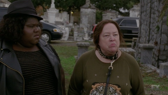 Image result for ahs: coven queenie and lalaurie