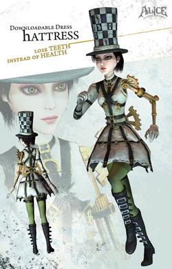 Hattress dress poster