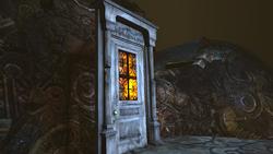 Liddell house door