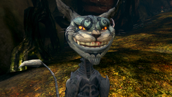 Cheshire Cat in Vale of Tears