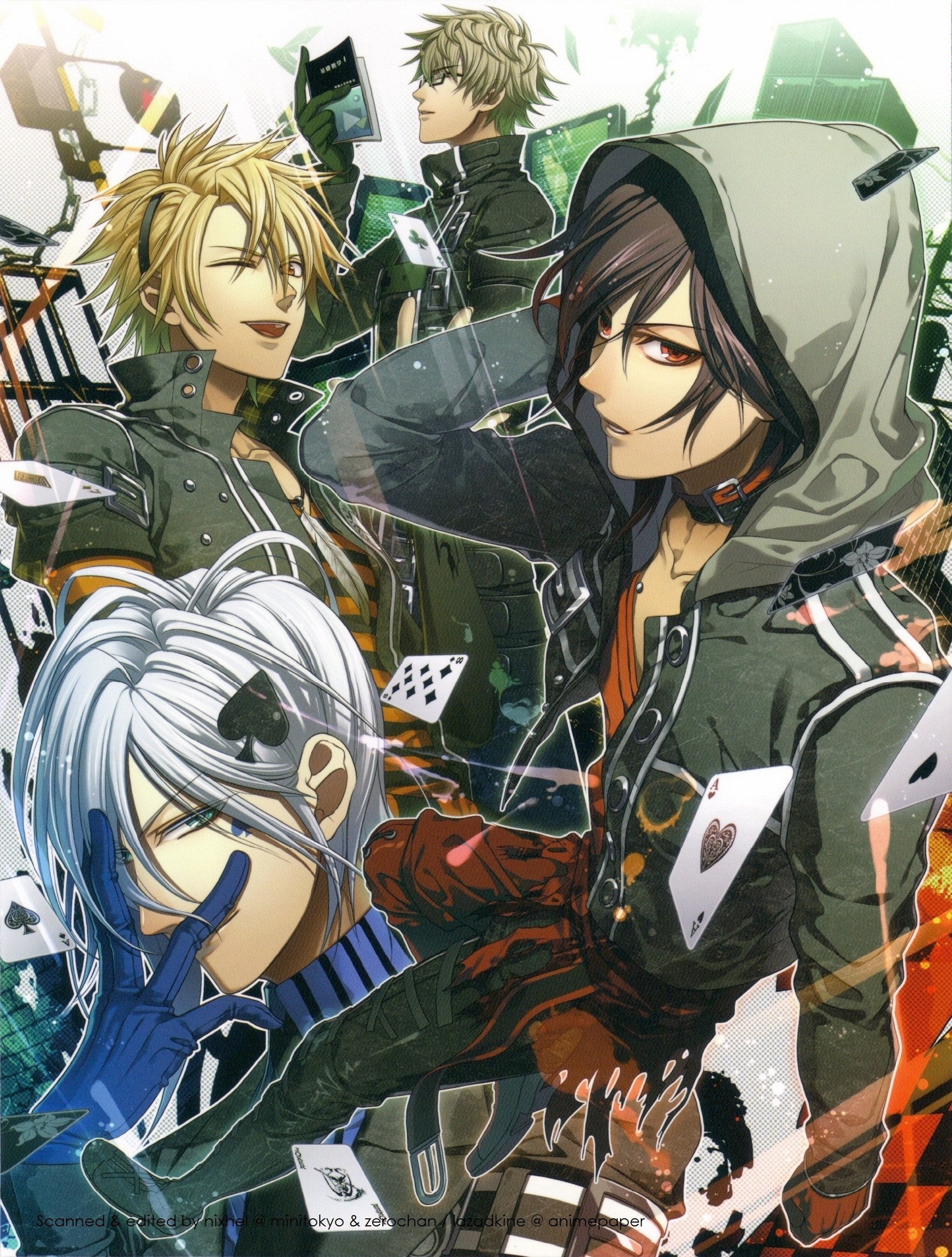 Anime characters from Amnesia
