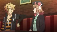 Toma's Casual Behavior With The Heroine