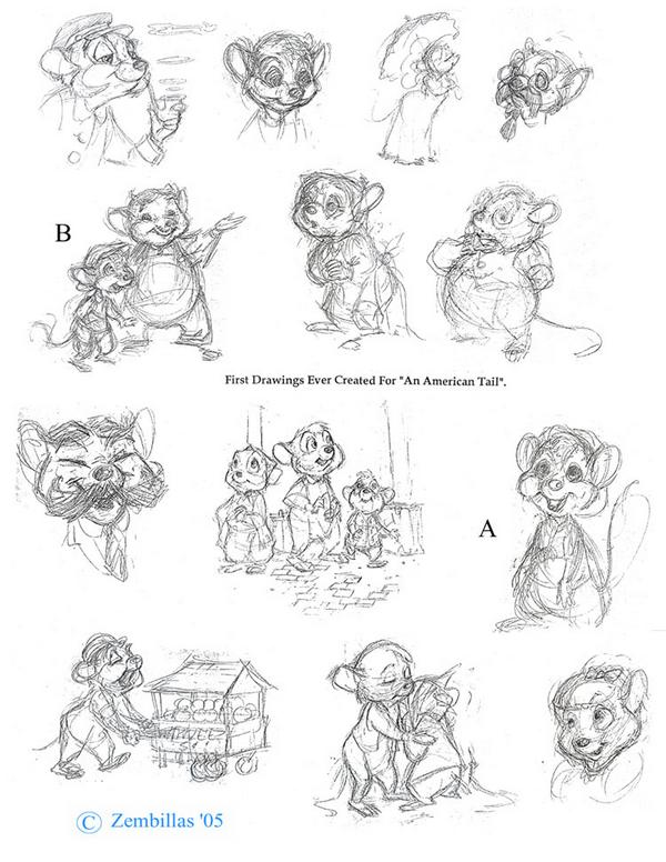 fievel coloring pages - photo#34