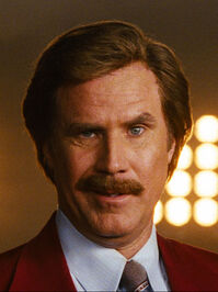 Anchorman ron burgundy a p