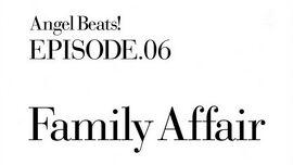 Angel Beats! EP6 Family Affair
