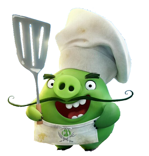 Abmovie chef pig png angry birds wiki fandom powered by wikia