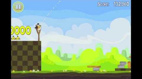 Angry Birds Seasons Easter Eggs Level 11 Walkthrough 3 Star