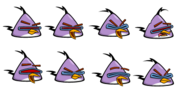 Lazer bird sprites