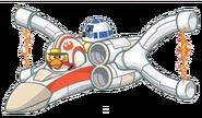 Luke x-wing copy