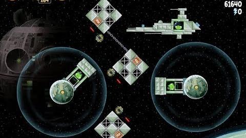 Angry Birds Star Wars 6-6 Death Star 2 Walkthrough 3 Stars