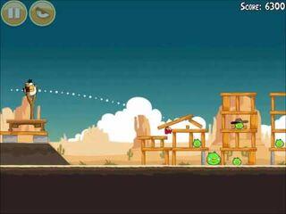 Official Angry Birds Walkthrough Ham 'Em High 14-7