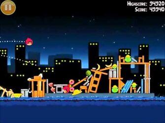 Official Angry Birds Walkthrough The Big Setup 11-9