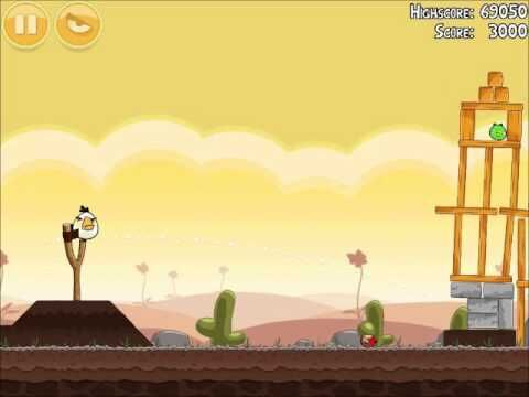 Official Angry Birds Walkthrough Poached Eggs 3-16