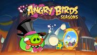 Angry Birds Seasons Loading Screen Abra-ca-bacon