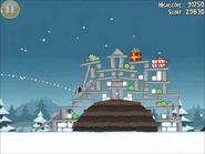 Official Angry Birds Seasons Walkthrough Season's Greedings 1-14