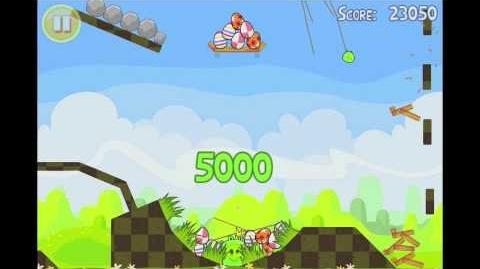 Angry Birds Seasons Easter Eggs Golden Egg 13 Walkthrough