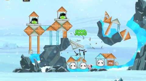 Angry Birds Star Wars 3-4 Hoth 3-Star Walkthrough