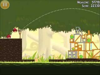 Official Angry Birds Walkthrough The Big Setup 11-6