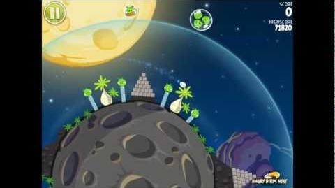 Angry Birds Space S-1 Pig Bang Bonus Level Walkthrough