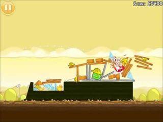 Official Angry Birds Walkthrough The Big Setup 10-12