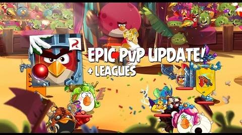 Angry Birds Epic PvP Update First Look Player vs Player Battle Arena & Leagues