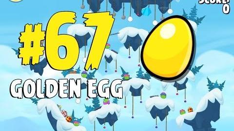 Angry Birds Seasons Ski or Squeal Golden Egg 67 Walkthrough