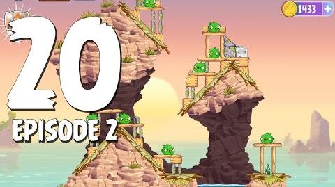 Angry Birds Stella Level 20 Episode 2 Beach Day Walkthrough