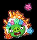 Angry Birds Fight! - Monster Pigs - Sazae Family - Sazae Girl